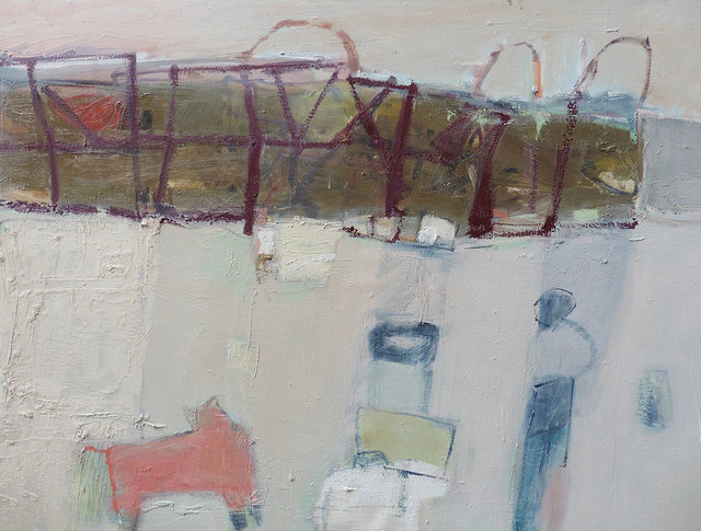 Caroline Yates, 'On the Cliff ', 2019, Hicks Gallery
