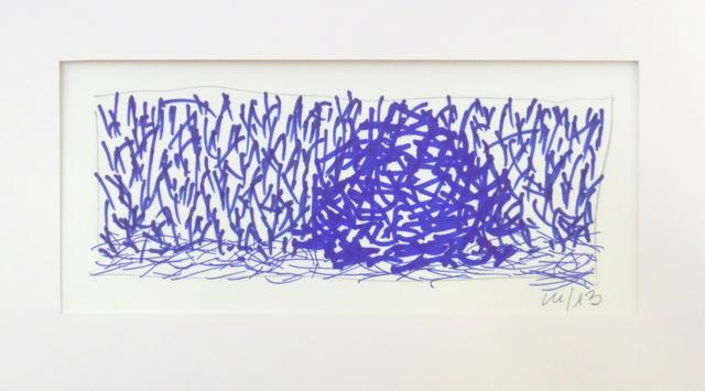 , 'Meule, en hommage à Claude Monet (étude),' 2013, ONIRIS - Florent Paumelle