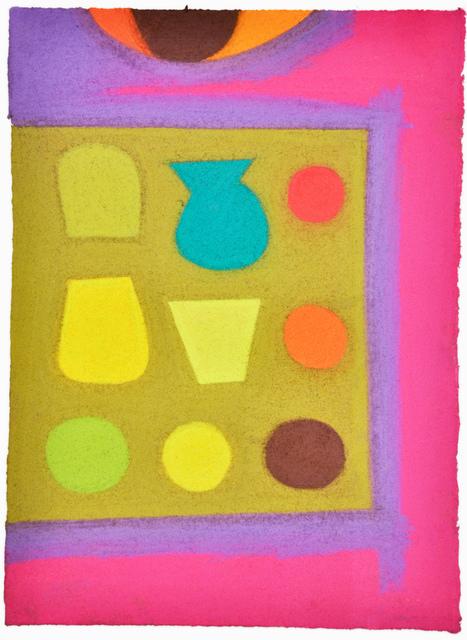 , 'Untitled (Plates on picnic blanket),' 2014, Fleisher/Ollman