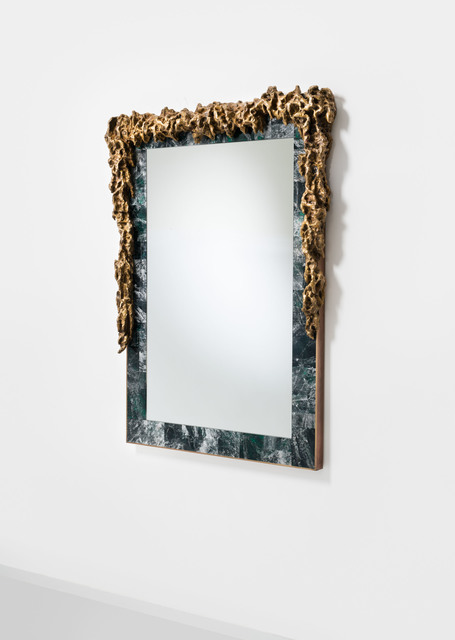 , 'Mirror 'Rock Crystal: Emerald' ,' 2016, David Gill Gallery