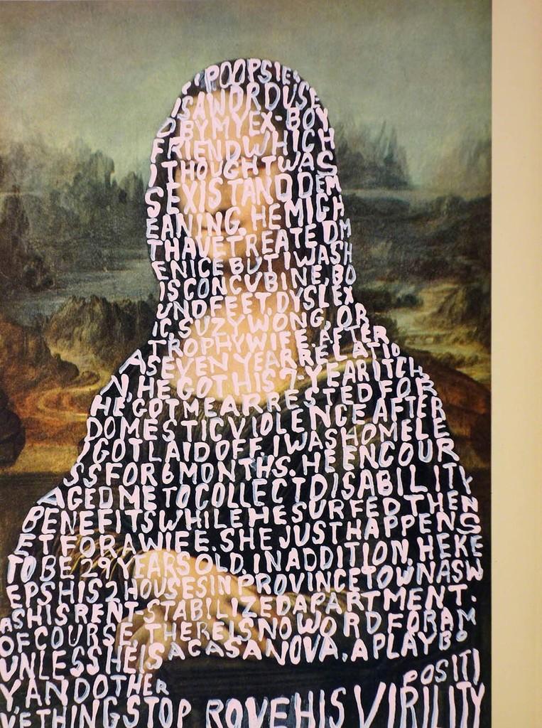 Women Words #51 (da Vinci)