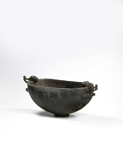 , 'Bol à nourriture (Food bowl),' early 20th century, Musée du quai Branly
