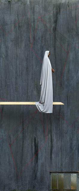 , 'Grey Trampoline,' 2016, Mariane Ibrahim Gallery