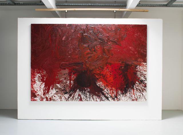 , 'Schüttbild,' 2014, Galerie Elisabeth & Klaus Thoman