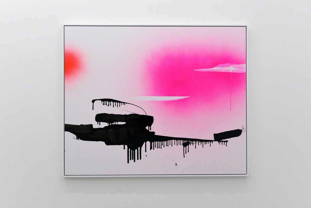 Lori Hersberger - Ghost Bayou, 2003, acrylic and flourescence on canvas, 120 x 150 cm