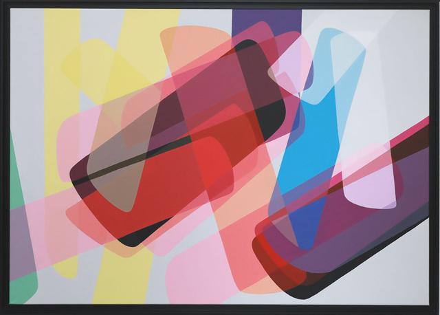 Nicolas Dubreuille, 'Sans titre (Ref 219) ', 2019, Painting, Acrylic on canvas, Galerie Duret