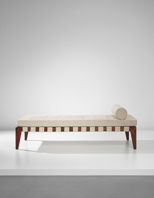 Pierre Jeanneret, 'Demountable bed, model no. PJ-L-05-A, designed for the Members Legislative Assembly flats, Punjab University student halls and other residencies', 1955-1956, Phillips