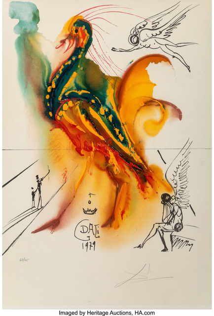 Salvador Dalí, 'Le grand pavon', 1996, Heritage Auctions