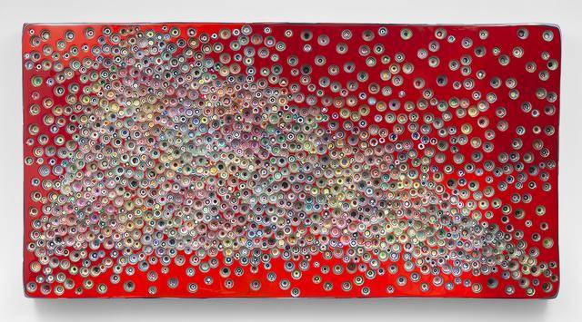 , 'TIMEISAMOODUNDERREVERSEFAULT,' 2017, Miles McEnery Gallery
