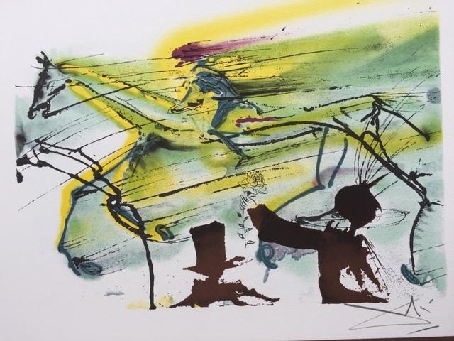 Salvador Dalí, 'Le cheval de course', 1983, ByNewArt