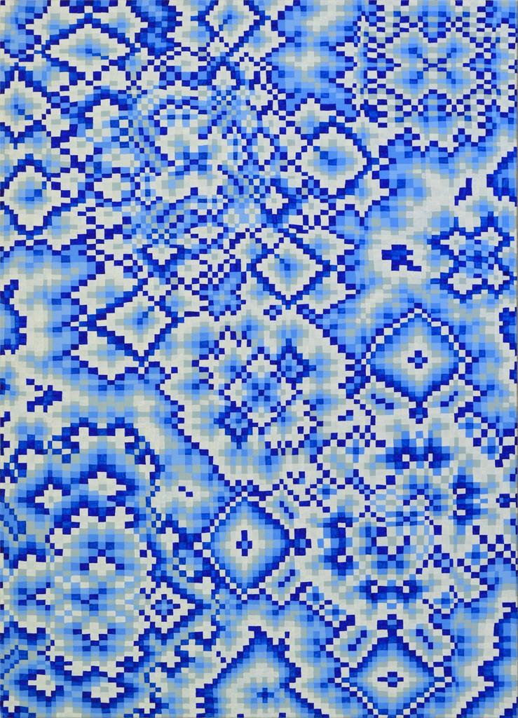 Blue Grid #1