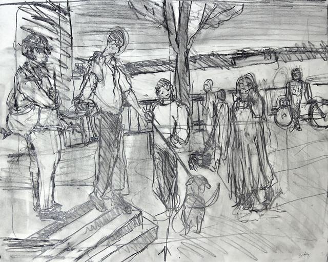 Simon Carr, 'River Sketch', 2018, Bowery Gallery