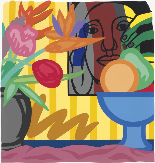 Tom Wesselmann, 'Mixed Bouquet with Leger', 1993, Hamilton-Selway Fine Art