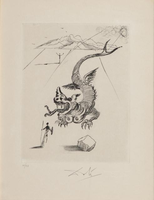 Salvador Dalí, 'Untitled', Print, Etching, Aste Boetto