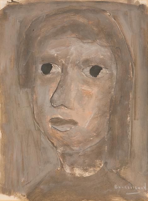 Paul-Henri Bourguignon, 'Head in Grey', Eisele Fine Art