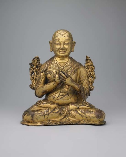 , 'Seated Tsongkhapa,' 16th century, Rossi & Rossi