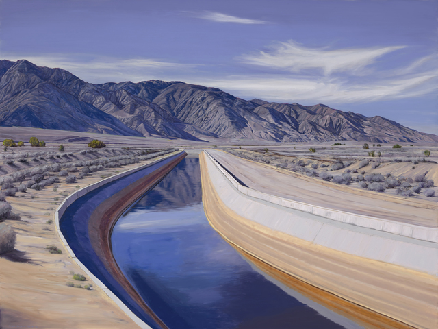 , 'Los Angeles Aqueduct,' 2016, Sue Greenwood Fine Art