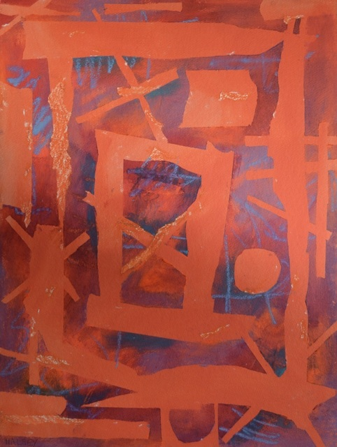 William Halsey, 'Cross Fires', 1990, The George Gallery