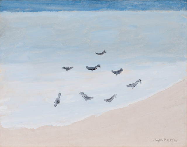 , 'Eight Birds Resting,' 1962, Michael Rosenfeld Gallery