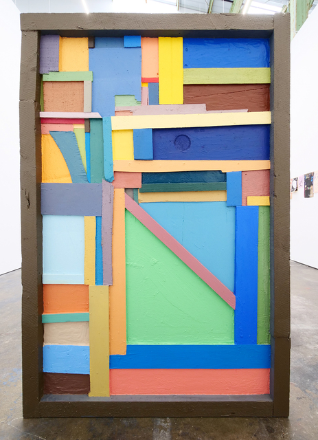 , 'Backwards painting #3,' 2010, Altman Siegel