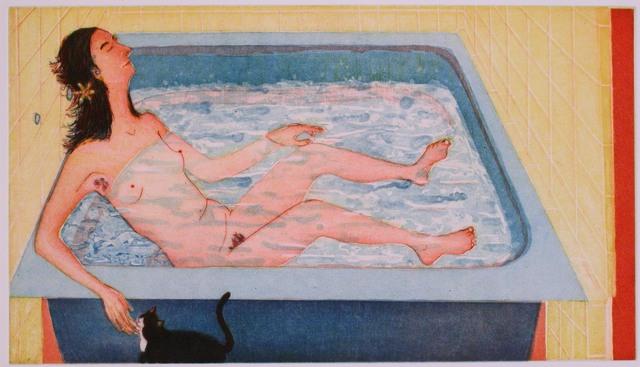 Sarah McEneaney, 'Beneficial Bath', 2002, ICA Philadelphia