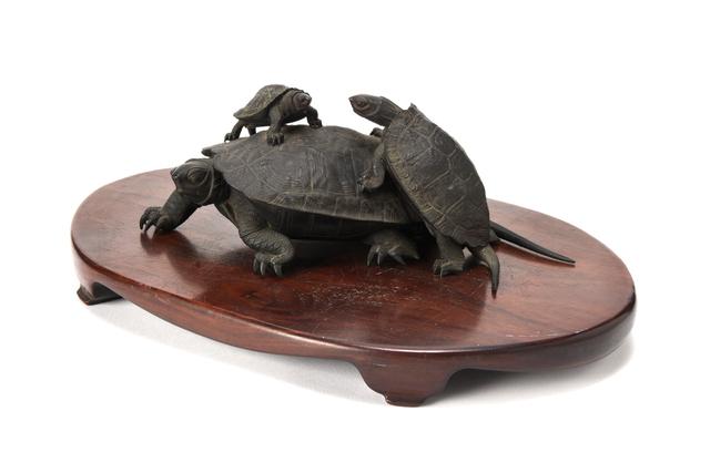 NON NAME, 'Bronze Turtle  20 0139', ca. 1860~, Other, Bronze, Yumekoubou Antique
