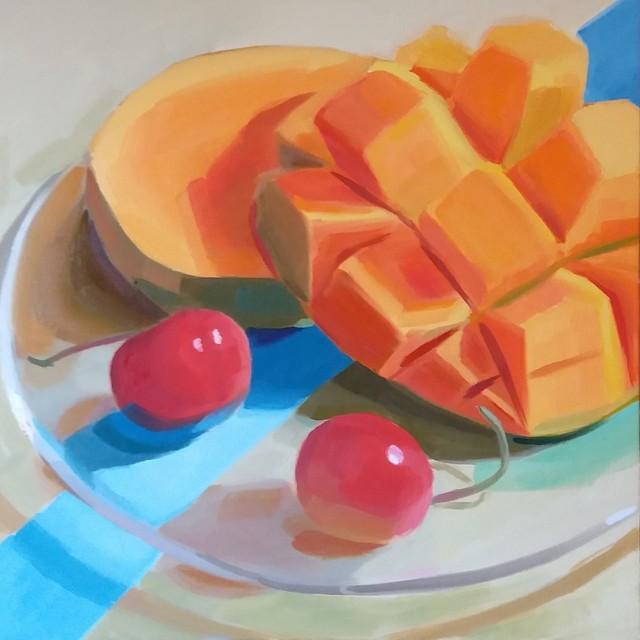 Yuri Tayshete, 'Mango and Cherries', 2019, 440 Gallery
