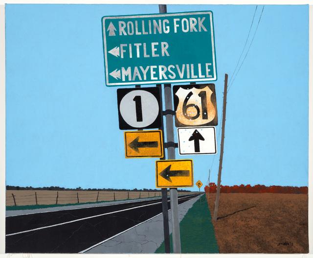 Rolland Golden, 'Lost in Mississippi', 2012, Mac-Gryder Gallery