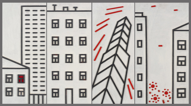 , 'Architectural composition - 1,' 2009, Gallery Fine Art Moscow