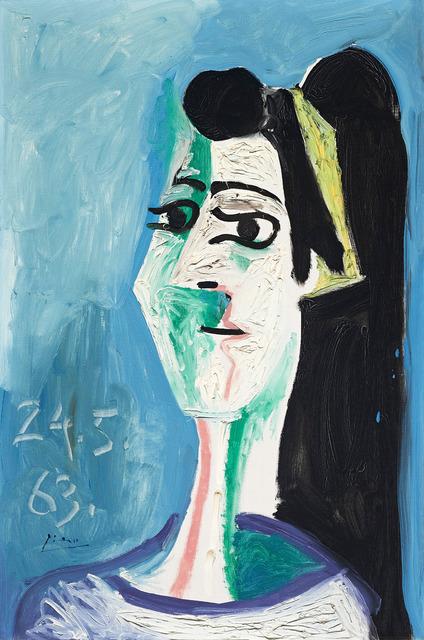 , 'Tête de femme,' 24, DICKINSON