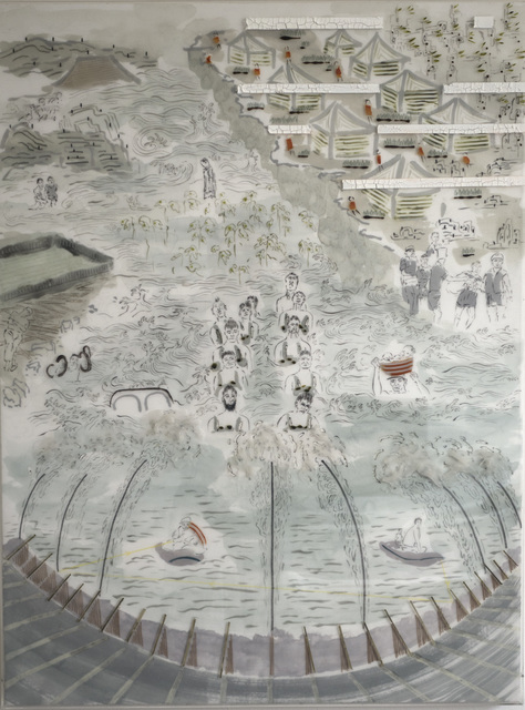 , 'Jiang Xi Flood A,' 2016, NanHai Art