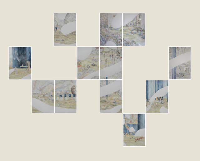 , 'Mareaciones,' 2015, Ruth Benzacar Galería de Arte