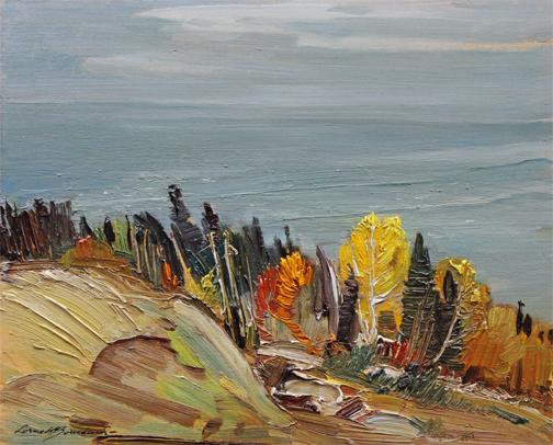 , 'AUTUMN, PORT AU BARIL, QUEBEC,' , Roberts Gallery Ltd.