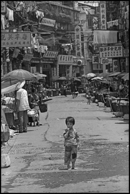 Dennis Stock, 'Hong Kong. Little Chan Ling Kuen abandoned', 1959, Magnum Photos