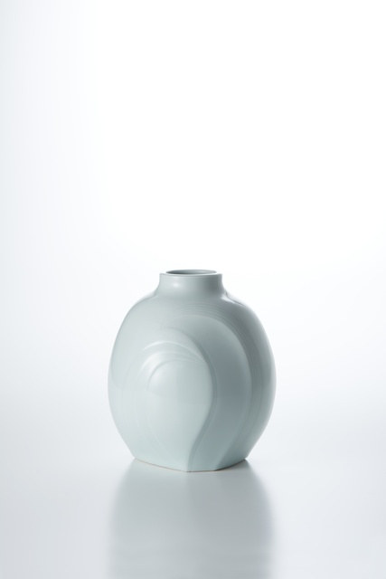 , 'Sculpted Blue-White Porcelain Flower Vase with Wave Patterns,' 2016, Onishi Gallery