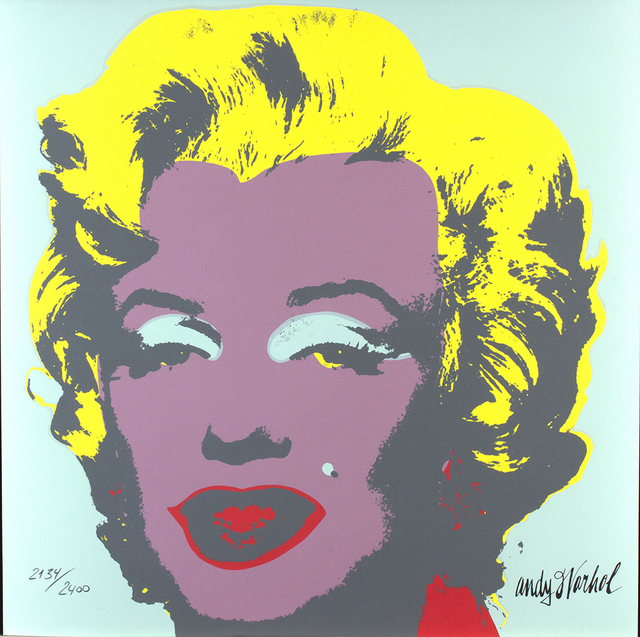 Andy Warhol, 'Marilyn Monroe', 1986, Print, Colored lithography on paper, Bertolami Fine Arts
