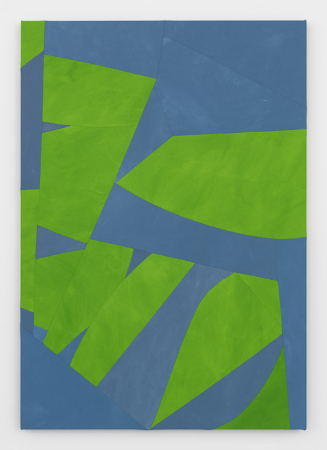 , 'Sliced Seeds, Green and Blue,' 2017, Simon Lee Gallery
