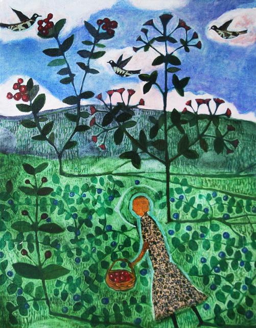 , 'The Herb Garden,' , Clark Gallery