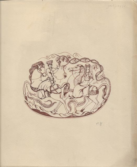 Lado Gudiashvili, 'Riders', ca. 1940, Baia Gallery