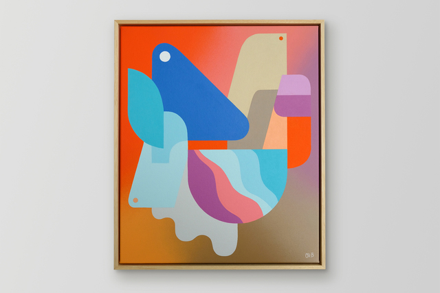Oli-B, 'Growing Up', 2019, Galerie C.O.A