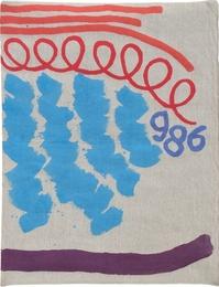 Tre linee con arabesco 986