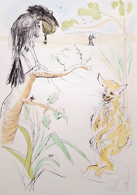 Salvador Dalí, 'Le Corbeau et le Renard (The Raven and the Fox)', 1974, Graves International Art