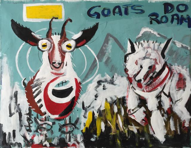, 'Goats Do Roam,' 2015, Paraphé