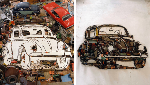 , 'VW Beetle,' 2009, Ranivilu Art Gallery