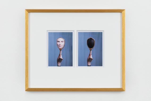 , 'reflection reflection: front back,' 2018, Maureen Paley