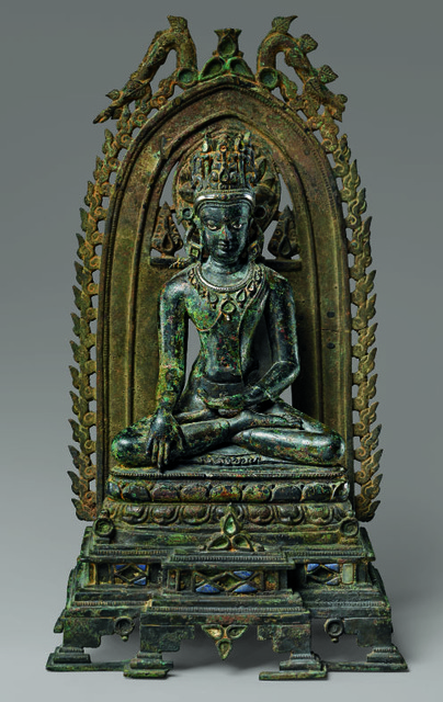 , 'Crowned Buddha,' 10th-11th century, The Metropolitan Museum of Art