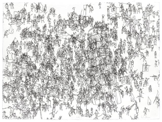 Pierre Durette, 'Babel 18', 2010, Atelier-Galerie A.Piroir