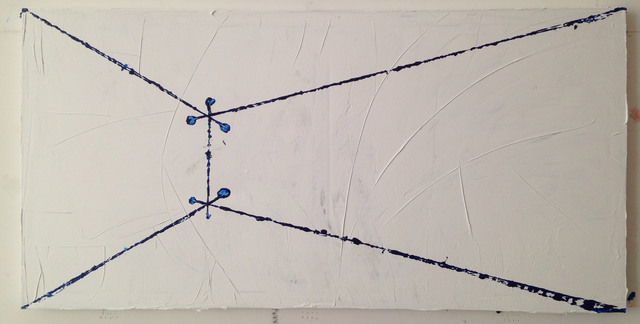 , 'Projections in Blue (Fig. 6) ,' 2015, Y Gallery