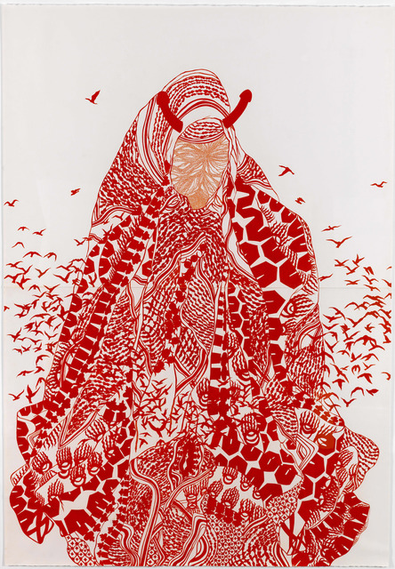 , 'Our Lady of Abortion II,' 2007, Jeanne Bucher Jaeger