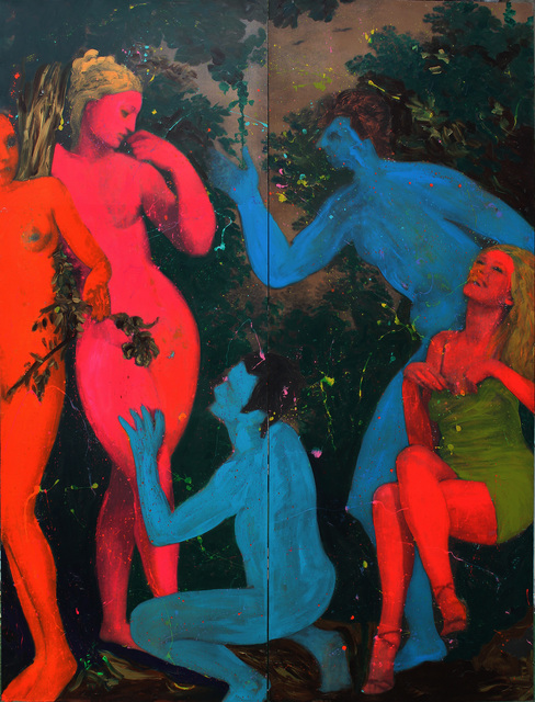 , 'Ademler ve Havvalar,' 2008-2009, Anna Laudel